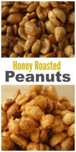 Honey Roasted Peanuts - Officially Gluten Free