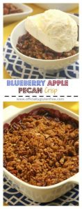 Blueberry Apple Pecan Crisp Gluten Free
