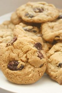 Cinnamon Raisin Cookies Gluten Free