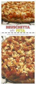 Bruschetta with Feta Gluten Free