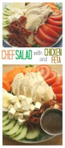 Chef Salad with Chicken and Feta
