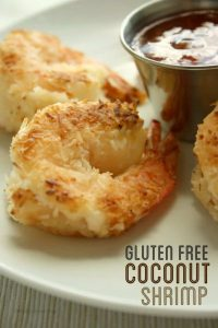 Gluten Free Coconut Shrimp