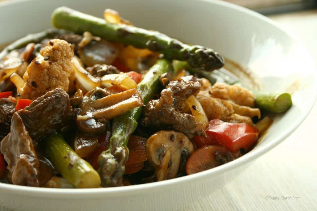 Korean BBQ Beef Vegetable Stir Fry   Officially Gluten Free