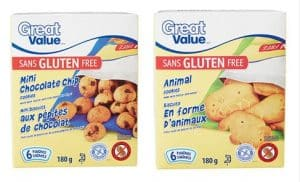 Great Value Gluten Free cookies