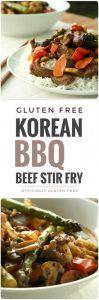Korean BBQ Beef Vegetable Stir Fry
