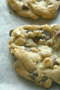 Mint Rocky Road Cookies