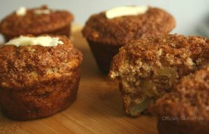 Pineapple Carrot Muffins Gluten Free