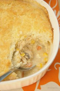 Biscuit Topped Turkey Pot Pie