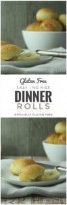 Easy Gluten Free Dinner Rolls