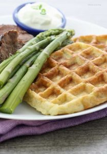 Gluten Free Mashed Potato Waffles