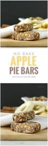 No Bake Apple Pie Bars