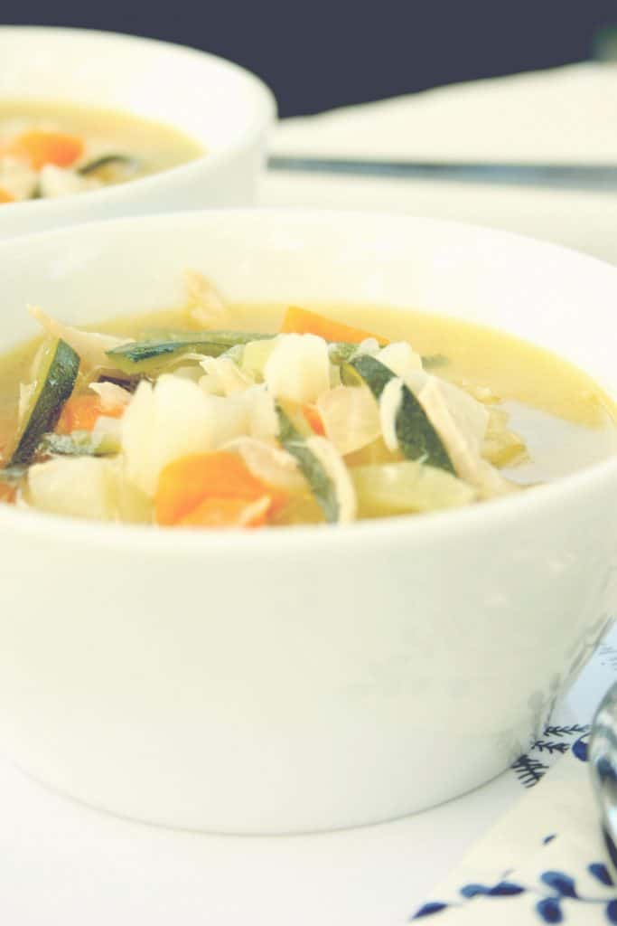 Chicken Zoodle Soup Officially Gluten Free