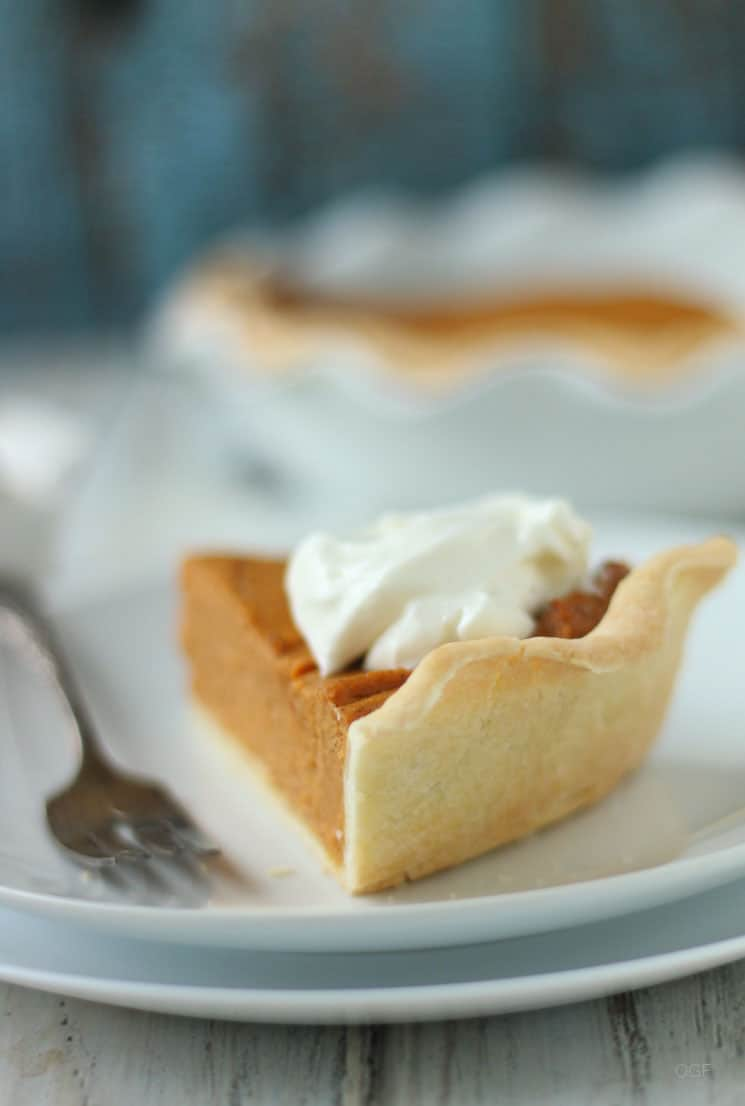 Gluten Free Butter Pie Crust