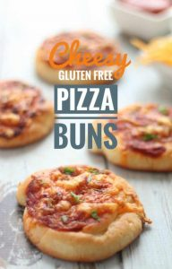 Cheesy Gluten Free Pizza Buns