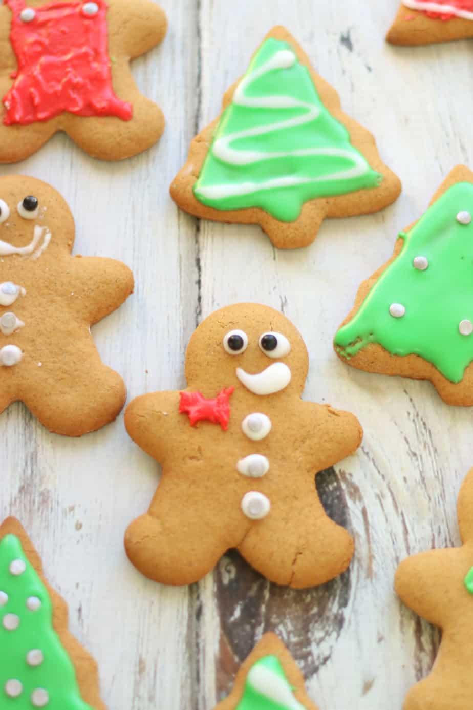 Gluten Free Gingerbread Cookies