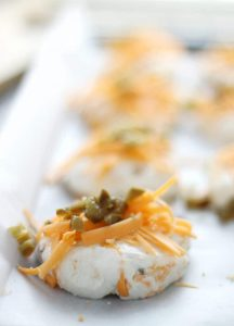 Gluten Free Jalapeno Cheddar Biscuits