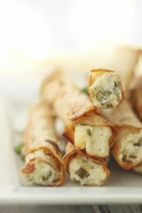 Gluten Free Cream Cheese Taquitos