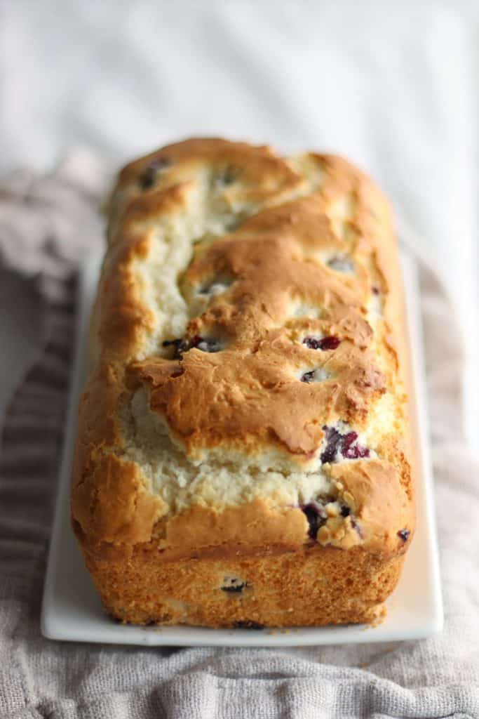 Gluten Free Blueberry Loaf