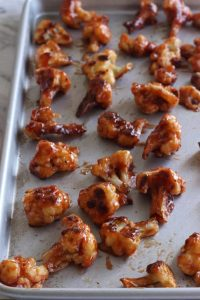 Gluten Free BBQ Cauliflower Wings