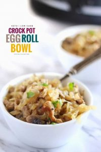 Crock Pot Egg Roll Bowl