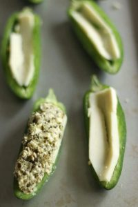 Keto Pesto Poppers