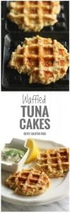 Low Carb Waffled Tuna Cakes