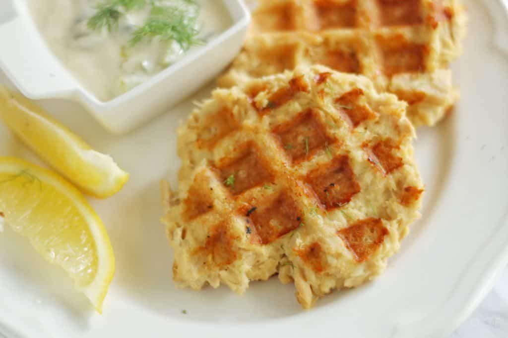 Keto Tuna Cake Recipes: Keto & Gluten Free Waffled