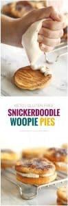 Keto Snickerdoodle Woopie Pies