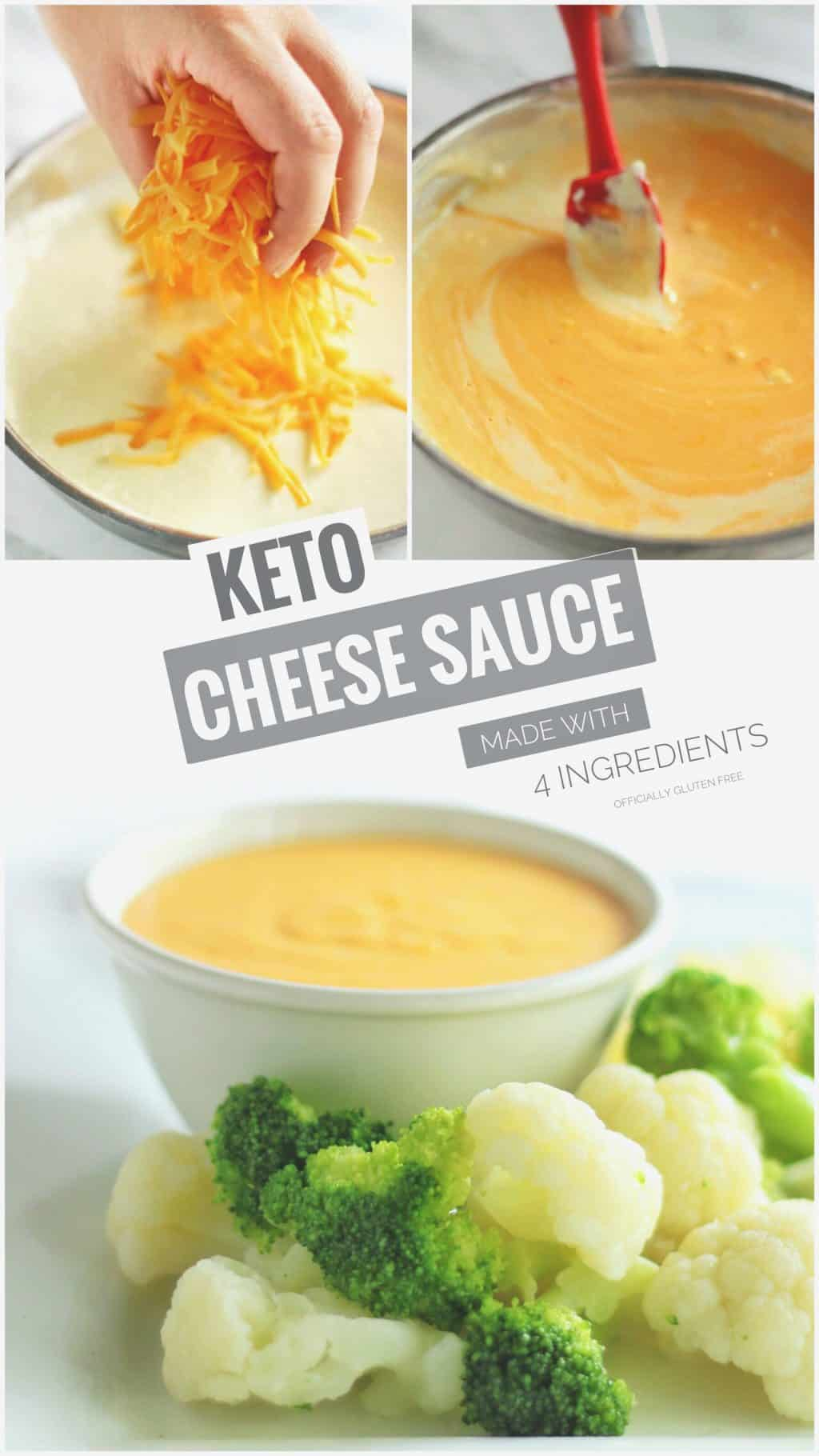 Easy Keto Cheese Sauce