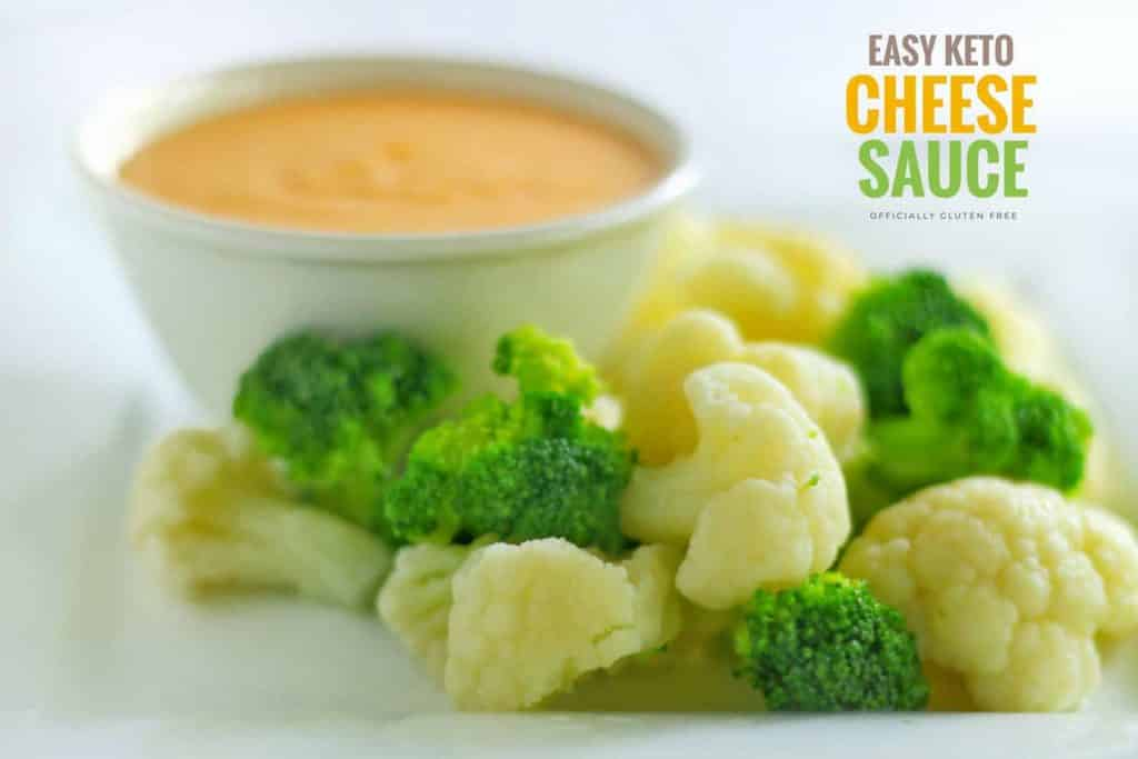 Easy Keto Cheese Sauce | Low Carb & Gluten Free Cheese Sauce