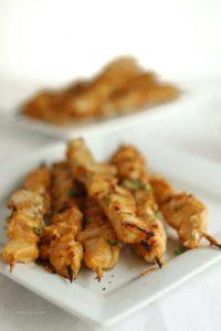 Keto Peanut Chicken Satay