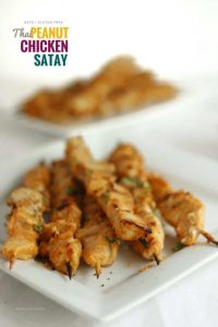 Keto Thai Peanut Chicken Satay