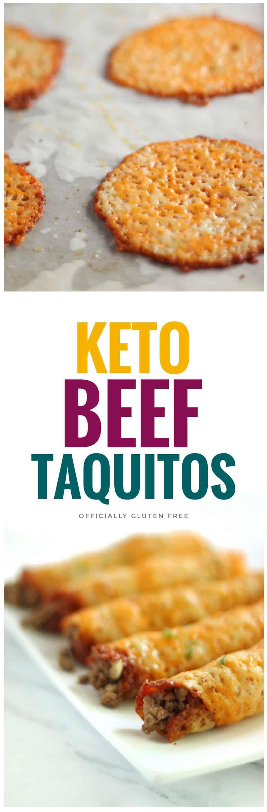 Keto Beef Taquitos