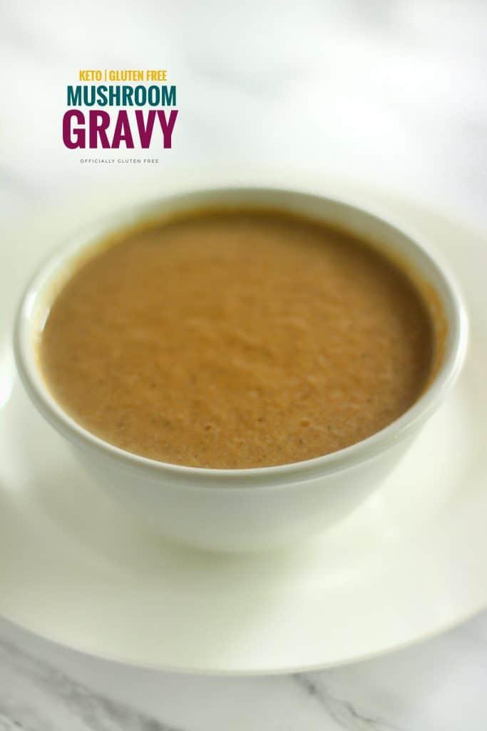 Easy Keto Mushroom Gravy