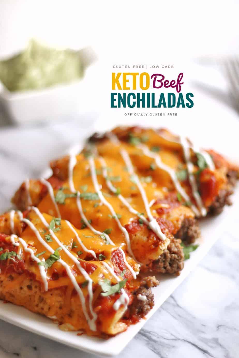 Keto Beef Enchiladas