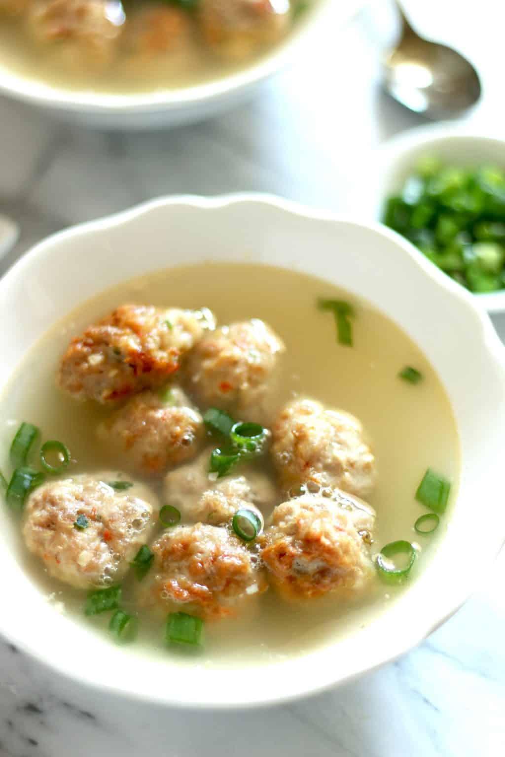 Keto Naked Wonton Soup