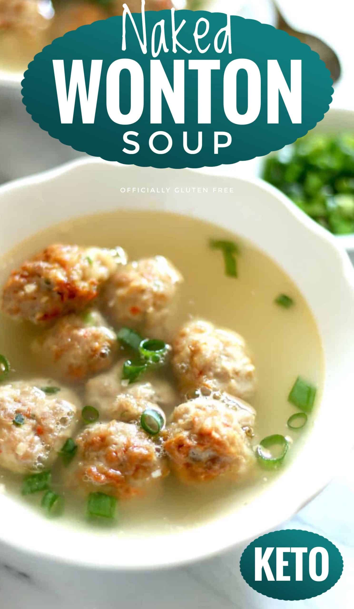 Naked Wonton Soup