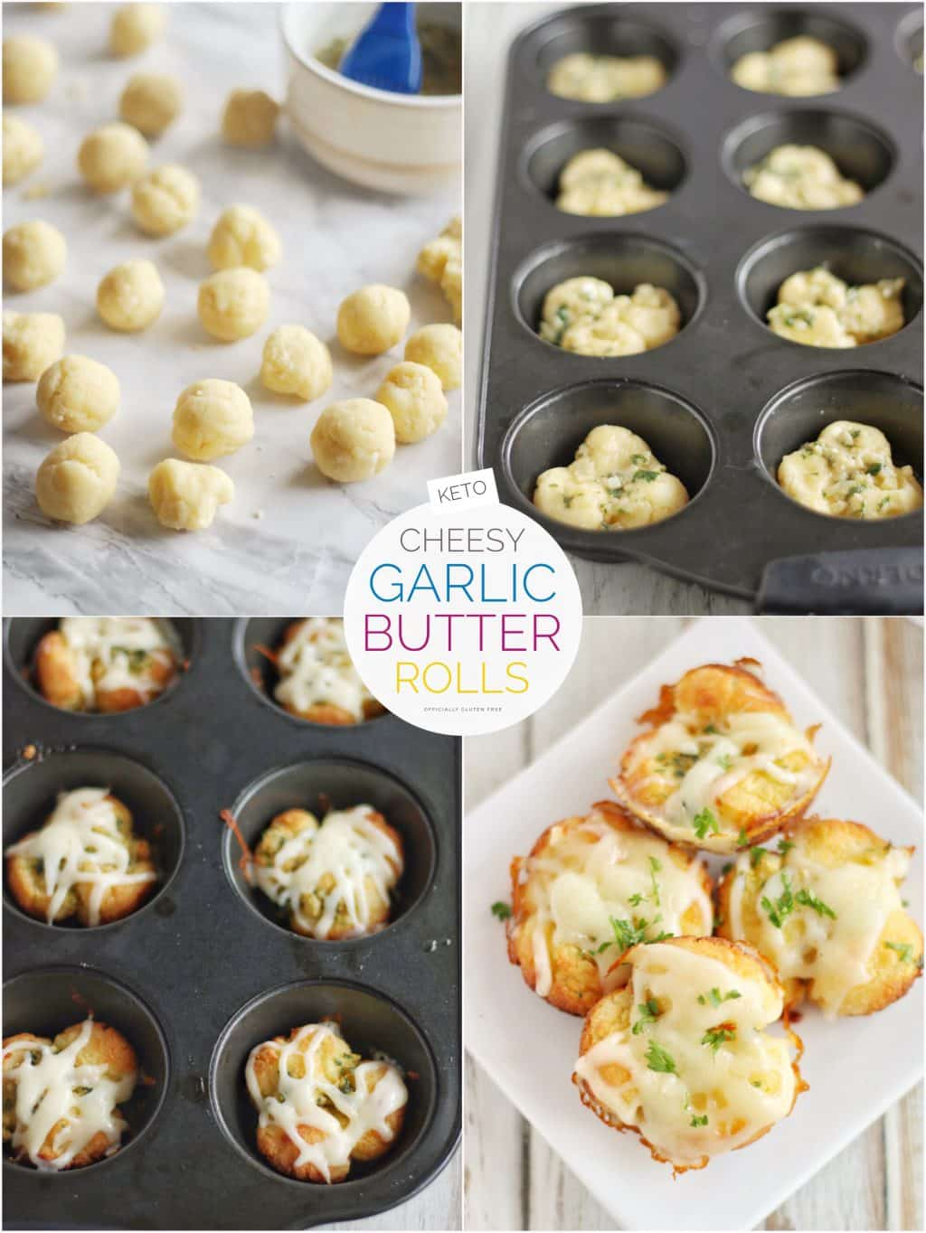 Cheesy Keto Garlic Rolls