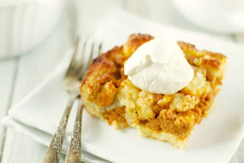 Fathead Pumpkin Pie Bars