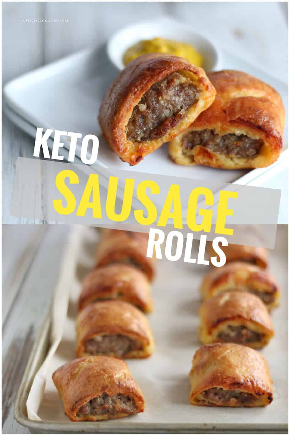 Keto Sausage Rolls