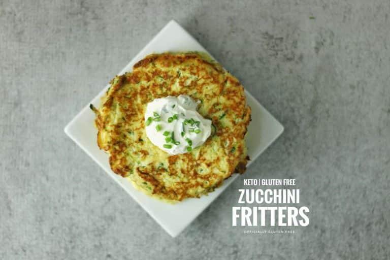 Keto Zucchini Fritters