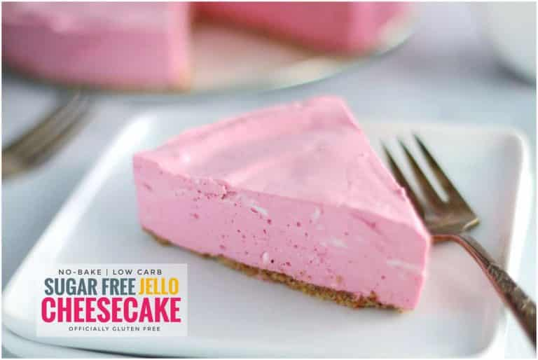 No-Bake Sugar Free Jello Cheesecake