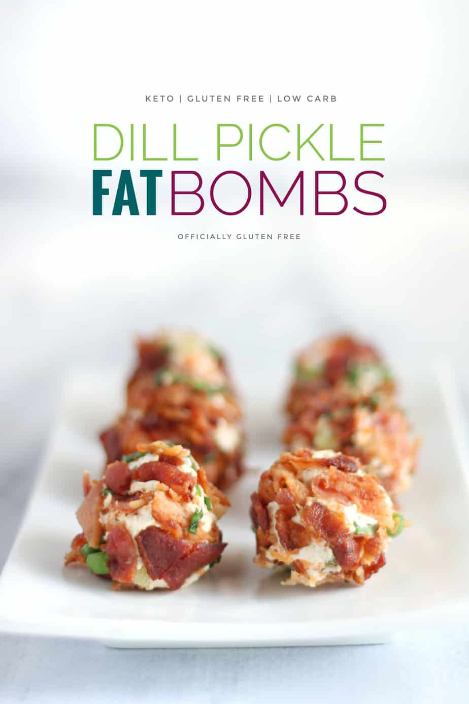 Keto Dill Pickle Fat Bombs