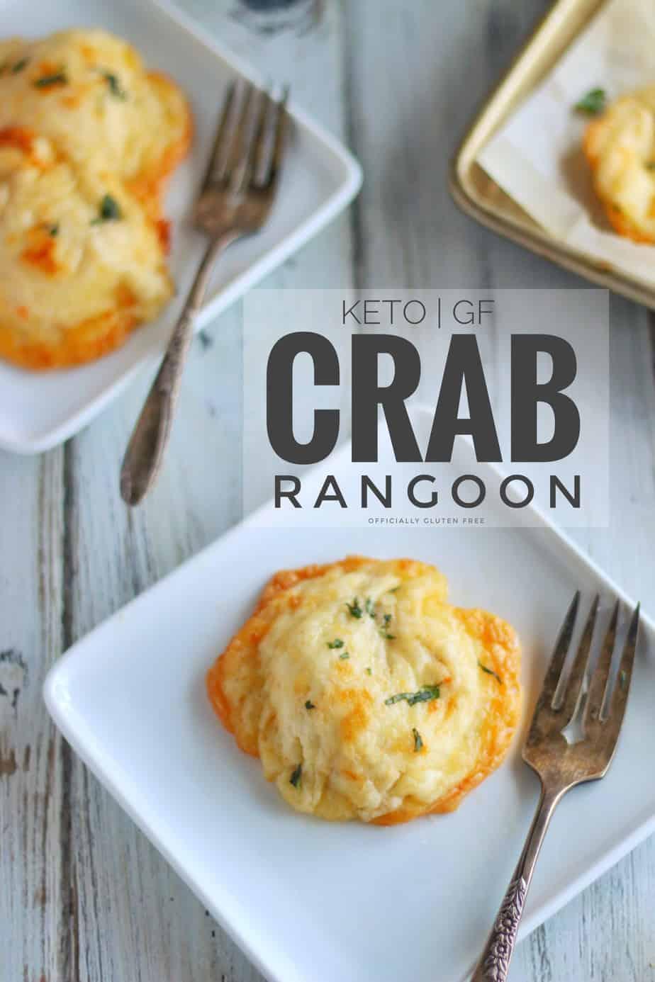 Cheesy Keto Crab Rangoon
