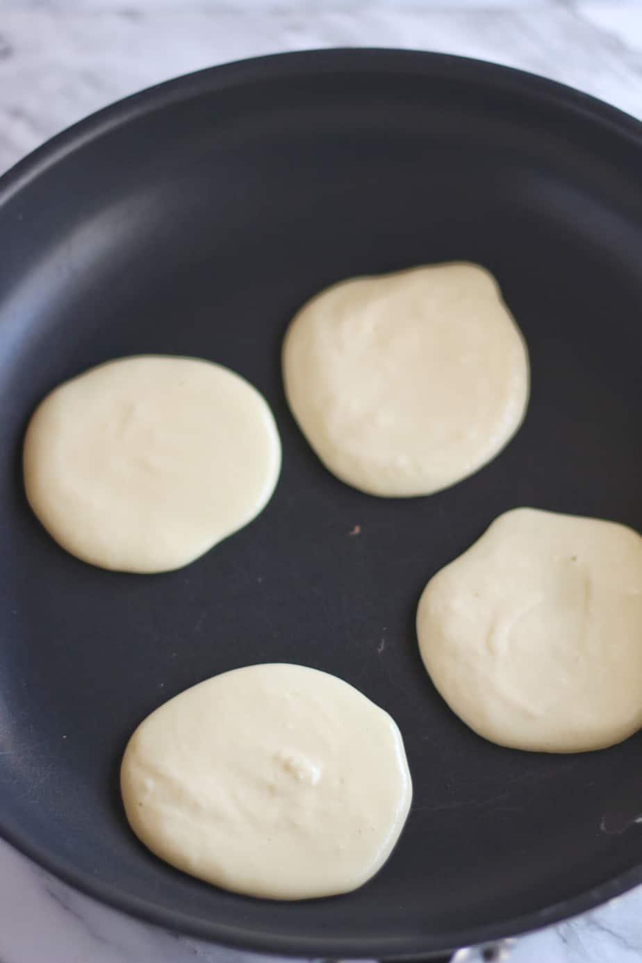 Keto Coconut Protein Pancakes