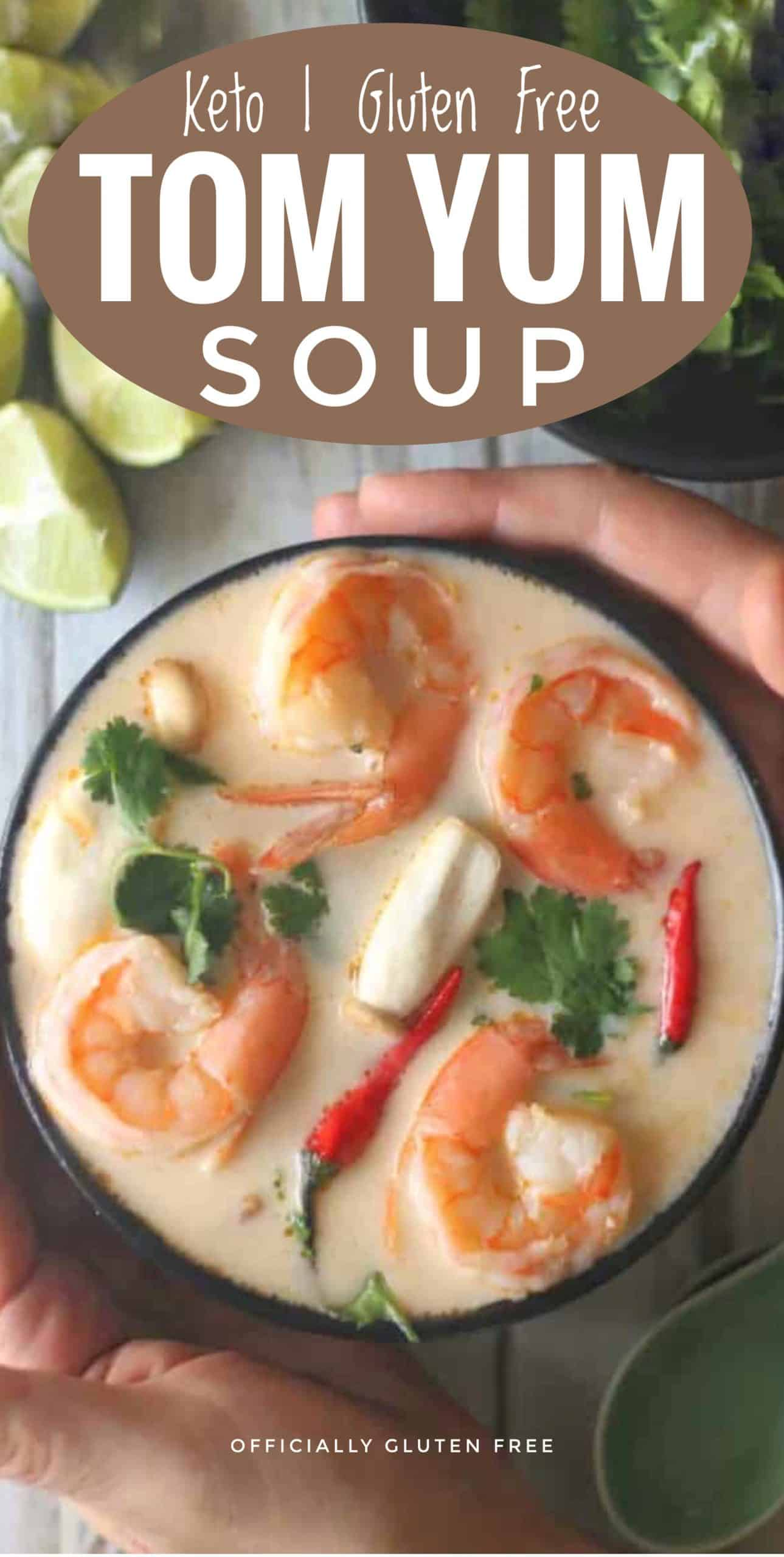 Keto Tom Yum Soup