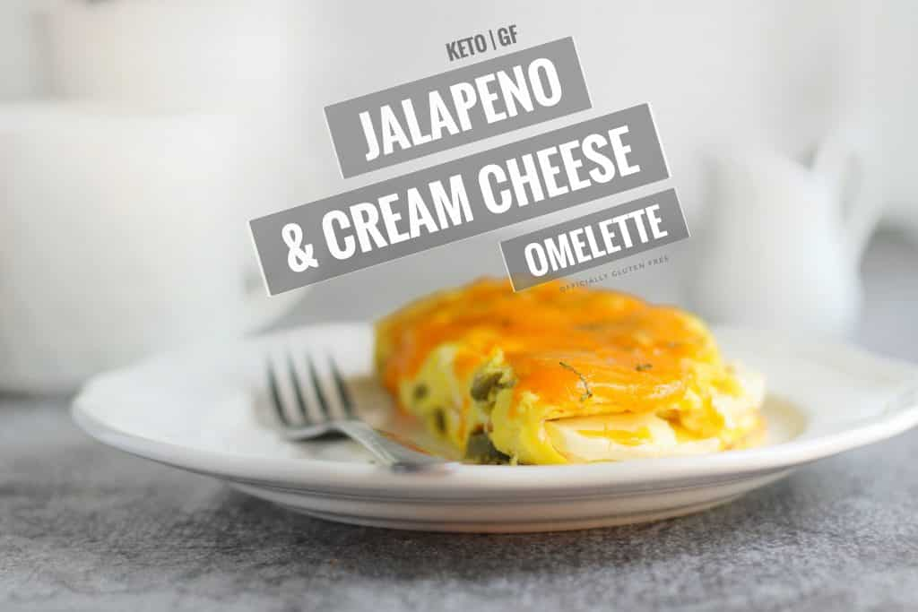 Jalapeño Cream Cheese Omelette