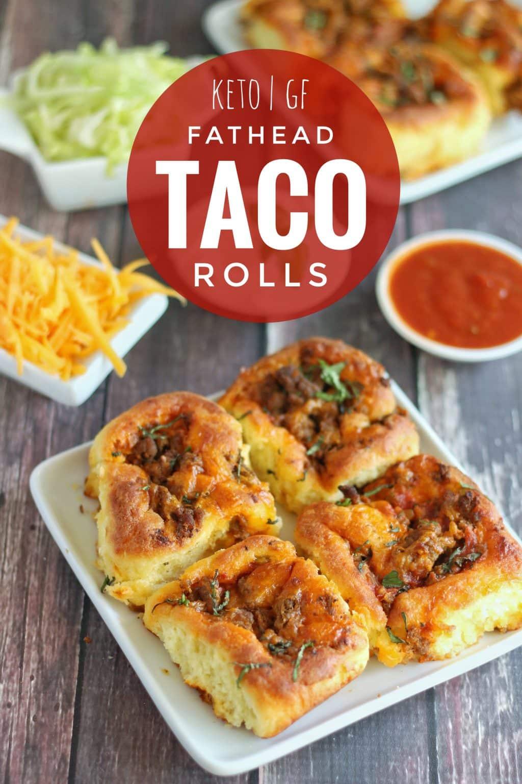 Keto Fathead Taco Rolls