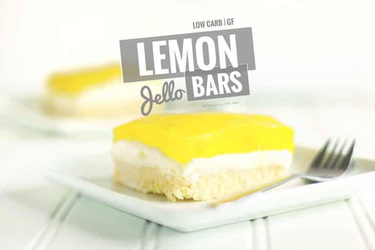 Lemon Jello Dessert Bars