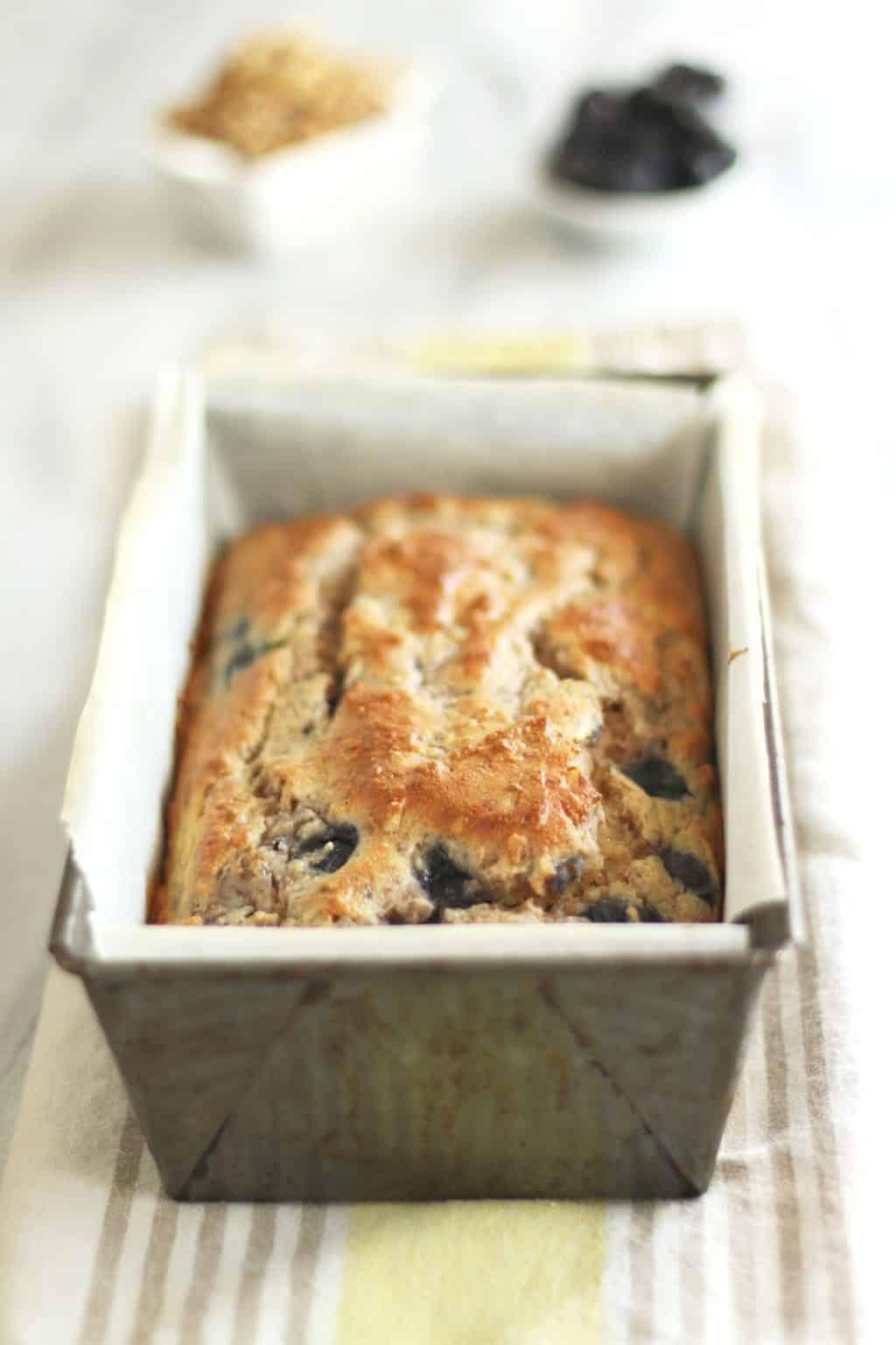 Keto Blueberry Walnut Bread